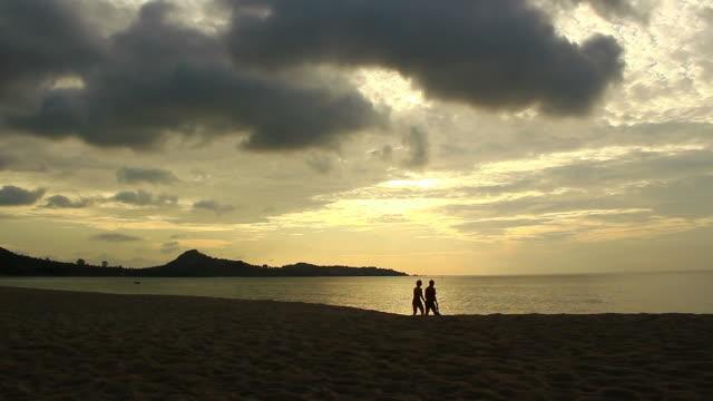 romantic on the beach