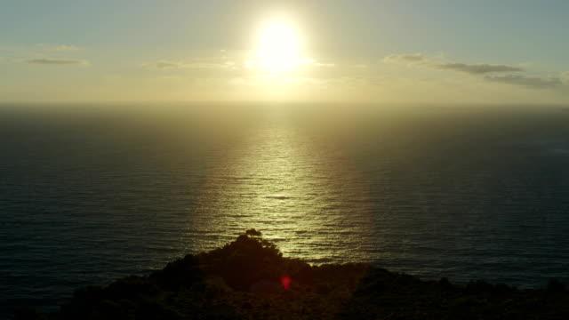 Romantic sea sunset