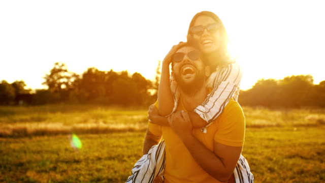 romantic sunset. - toned image stock videos & royalty-free footage