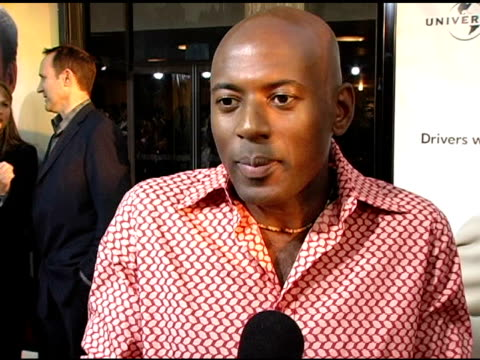 romany malco on the character's reason for being a virgin vs other people's at the 'the 40yearold virgin' premiere at arclight cinemas in hollywood... - arclight cinemas hollywood stock videos and b-roll footage