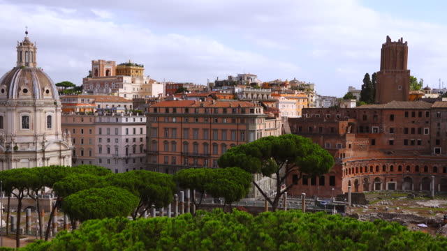 rome city view - state of the vatican city stock videos & royalty-free footage