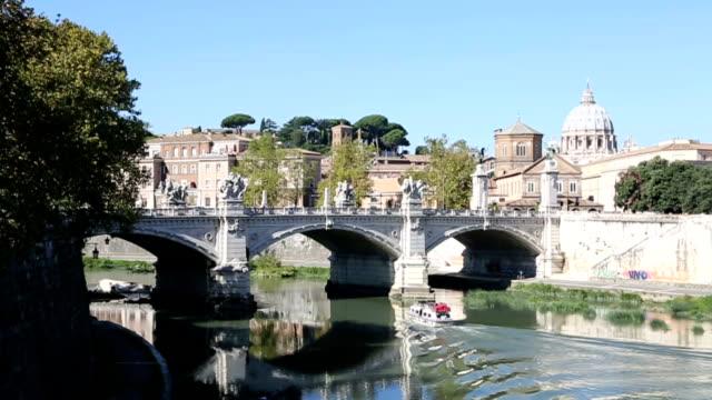 rome city view - brain stem stock videos & royalty-free footage