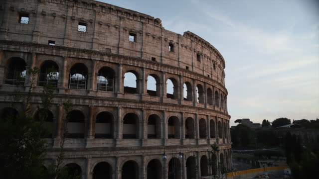 rome colosseum timelapse - famous place stock videos & royalty-free footage