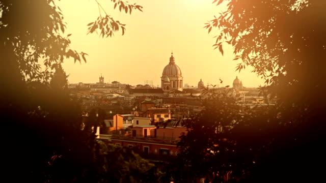 Roma cupola del Pincio Hill