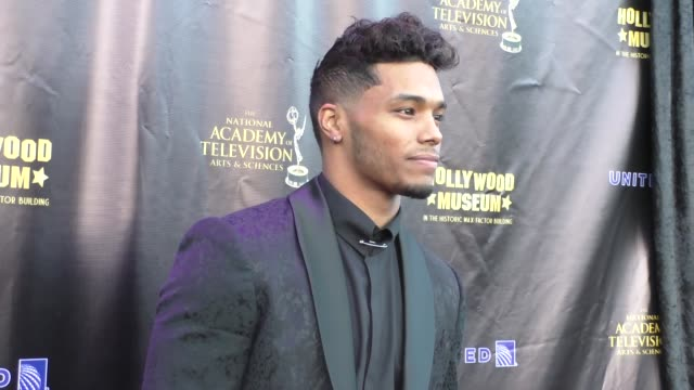 Rome Flynn at the 2016 Daytime Emmy Awards Nominees Reception at The Hollywood Museum in Hollywood Celebrity Sightings on April 27 2016 in Los...