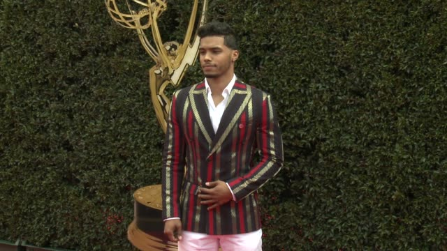 Rome Flynn at the 2018 Daytime Emmy Awards at Pasadena Civic Auditorium on April 29 2018 in Pasadena California