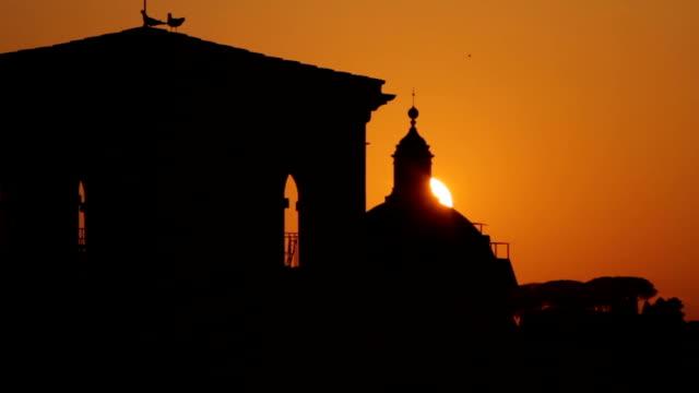 Roma da Capitol Hill al tramonto