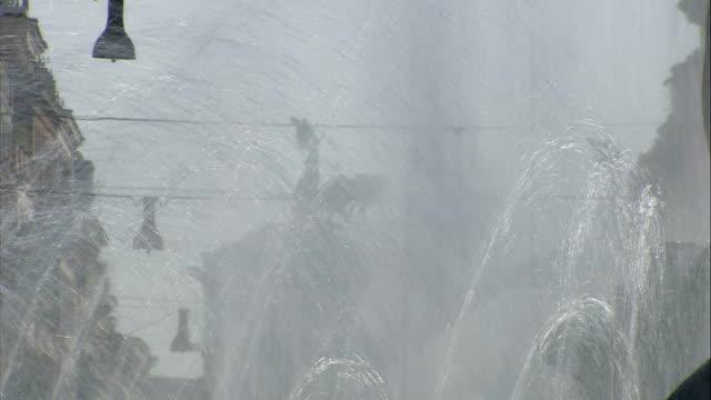 general views of coppede quarter / piazza della republica / piazza navona / statue of marco aurelio / sunset over river tiber piazza della republica... - piazza navona stock videos & royalty-free footage