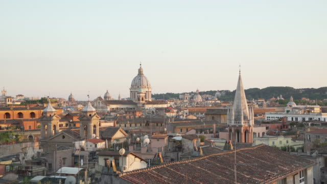 Rome high angle view from Villa Borghese