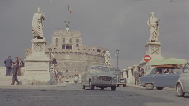 rome, italy town square - ラツィオ州点の映像素材/bロール