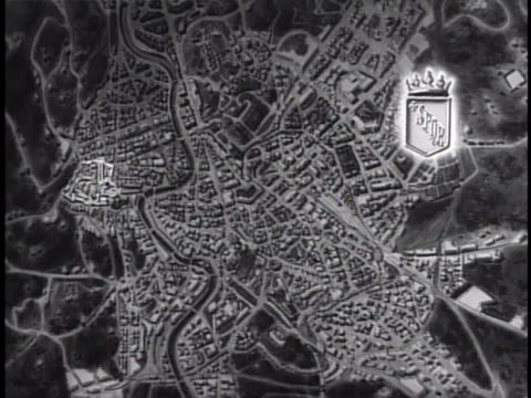 map rome map w/ sovereign territory of the holy see vatican city highlighted enclave european microstate citystate roman catholic church - state of the vatican city stock videos & royalty-free footage