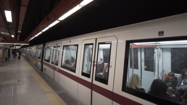 Rome metro (subway) Roma Metropolitane
