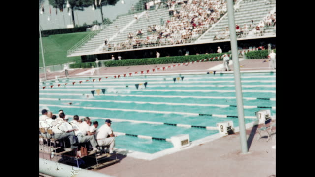 1960 Rome Olympics Women's Swimming