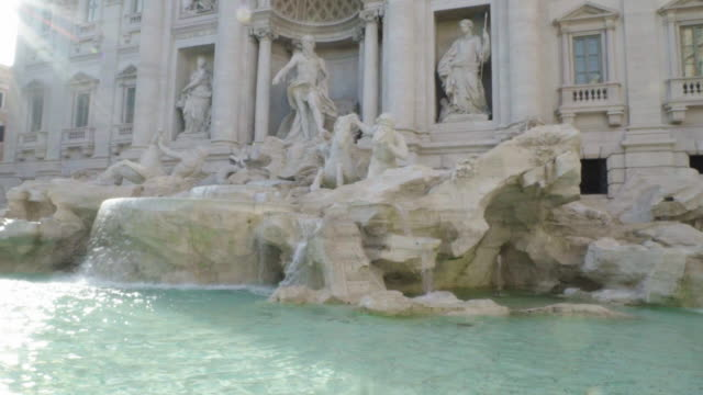 Rome, TREVI FOUNTAIN,  PAN ACROSS
