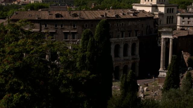 Rome view from Campidoglio