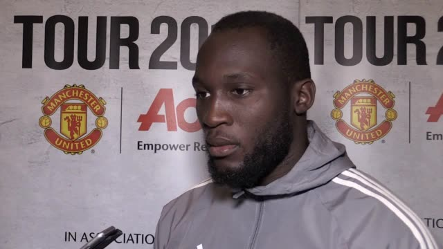 Romelu Lukaku's first oncamera interview since officially signing for Manchester United The striker talks about preseason at his new club and how it...