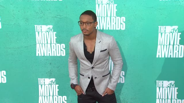 romeo at 2012 mtv movie awards - arrivals at gibson amphitheatre on june 03, 2012 in universal city, california - gibson amphitheatre stock-videos und b-roll-filmmaterial