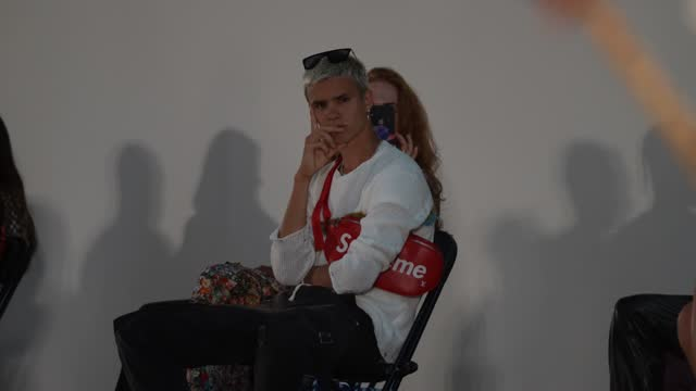 romeo beckham attends the reuben selby show during london fashion week june 2021 on june 12, 2021 in london, england. - celeb stock videos & royalty-free footage