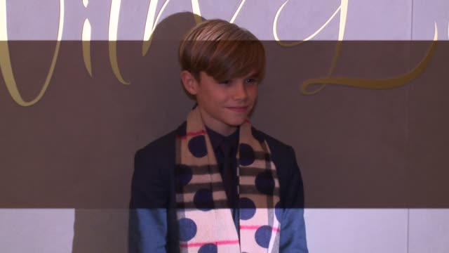 broll romeo beckham james bay julie walters storm keating ronan keating at burberry on november 03 2015 in london england - ronan keating stock videos & royalty-free footage