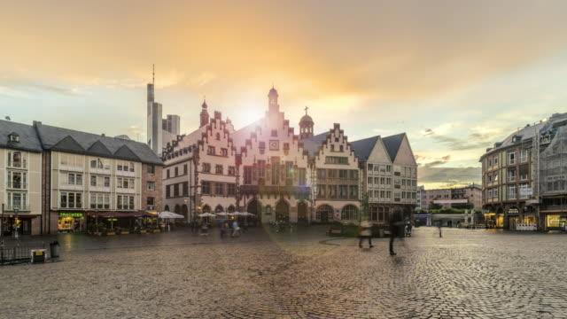 Romerberg at sunset, Frankfurt