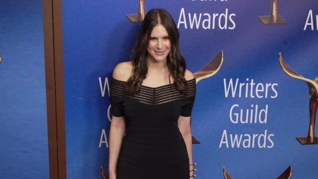 romi barta at the 2020 writers guild awards at the beverly hilton hotel on february 01, 2020 in beverly hills, california. - the beverly hilton hotel stock videos & royalty-free footage