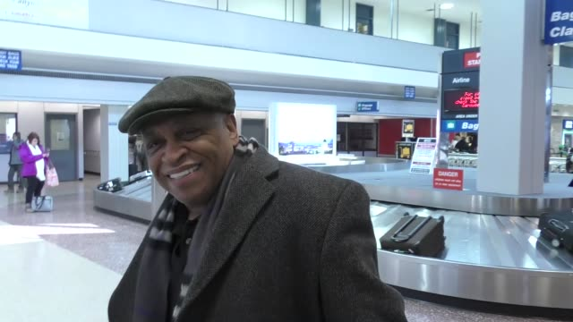 ron canada arriving for sundance at salt lake city airport in celebrity sightings in park city, ut on january 18, 2017 in park city, utah. - park city utah stock videos & royalty-free footage