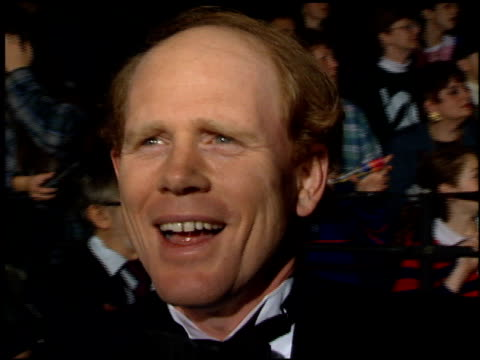 vídeos de stock, filmes e b-roll de ron howard at the 1995 people's choice awards at universal studios in universal city california on march 5 1995 - ron howard