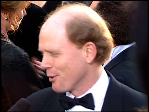 vídeos de stock e filmes b-roll de ron howard at the 1996 academy awards arrivals at the shrine auditorium in los angeles california on march 25 1996 - 68.ª edição da cerimónia dos óscares