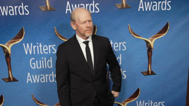 vídeos de stock, filmes e b-roll de ron howard at the 2019 writers guild awards at the beverly hilton hotel on february 17 2019 in beverly hills california - ron howard