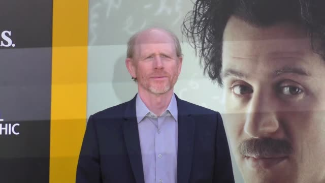 ron howard at the premiere of national geographic's 'genius' on april 24, 2017 in los angeles, california. - genius stock videos & royalty-free footage