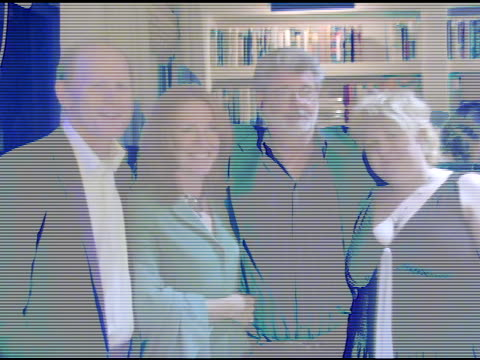 Ron Howard Cheryl Howard Crew George Lucas and daughter at the In the Face of Jinn Release Party at Private Residence in Pacific Palisades California...