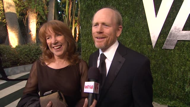 INTERVIEW Ron Howard on knowing everyone at the Oscars so he's rooting for all on getting out to LA why he loves this party at The 2013 Vanity Fair...