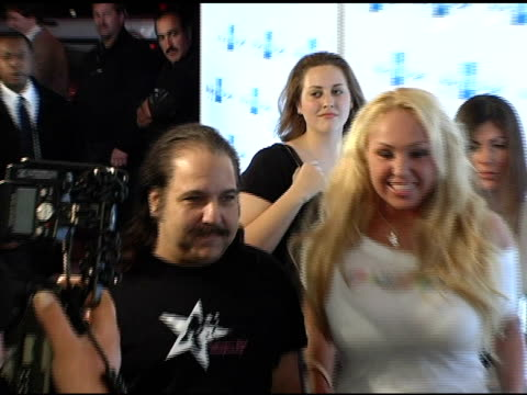 ron jeremy and mary carrie at the american express jam sessions with kid rock at house of blues on sunset boulevard in los angeles, california on... - kid rock stock videos & royalty-free footage