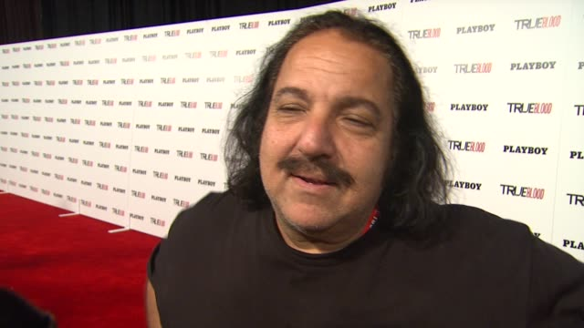 ron jeremy on what brings him to the playboy/true blood party if he has a favorite true blood character what is the craziest thing he has seen at... - playboy magazine stock videos & royalty-free footage