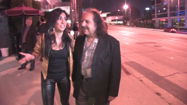 Ron Jeremy outside Trousdale in West Hollywood at the Celebrity Sightings in Los Angeles at Los Angeles CA