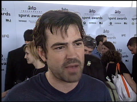 ron livingston at the 2003 ifp independent spirit awards on march 22 2003 - ifp independent spirit awards stock videos and b-roll footage