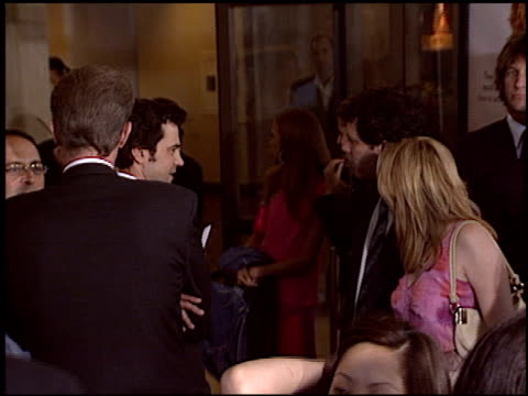 ron livingston at the 'uptown girls' premiere at the cinerama dome at arclight cinemas in hollywood california on august 4 2003 - arclight cinemas hollywood stock videos and b-roll footage