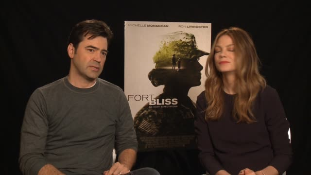 ron livingston michelle monaghan on tackling motherhood career portraying the other half at home monaghan's scenes how intense it was for her to... - michelle monaghan stock videos & royalty-free footage