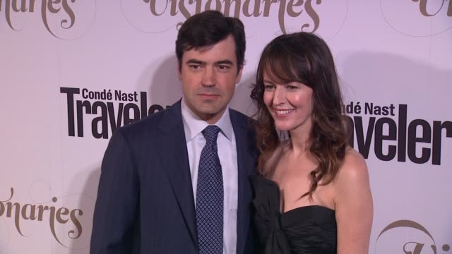 Ron Livingston Rosemarie DeWitt at Conde Nast Traveler Celebrates 'The Visionaries' And 25 Years Of Truth In Travel in New York 09/18/12