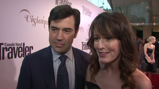 Ron Livingston Rosemarie DeWitt on how they got involved with their cause at Conde Nast Traveler Celebrates 'The Visionaries' And 25 Years Of Truth...