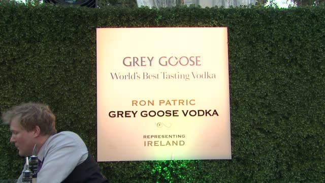 ron patric at a taste of the world presented by breeders' cup grey goose vodka on 11/2/2012 in pasadena ca - grey goose vodka stock videos & royalty-free footage