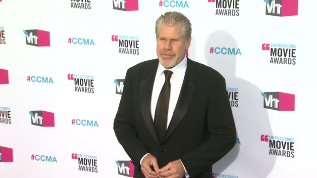 Ron Perlman at 17th Annual Critics' Choice Movie Awards on 1/12/12 in Hollywood CA