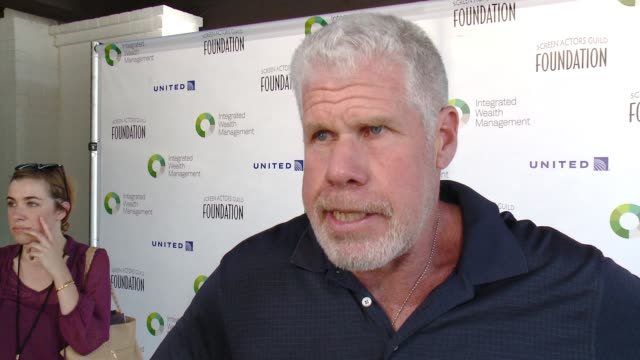 INTERVIEW Ron Perlman at Screen Actors Guild Foundation Kicks Off 30th Anniversary Honors Sofia Vergara With Actors Inspiration Award At 6th Annual...