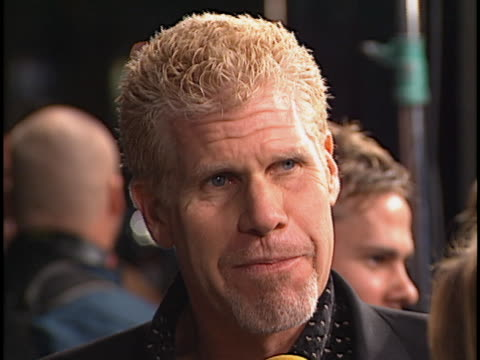 vídeos y material grabado en eventos de stock de ron perlman at the blade ii premiere at manns chinese theater hollywood - cuchilla