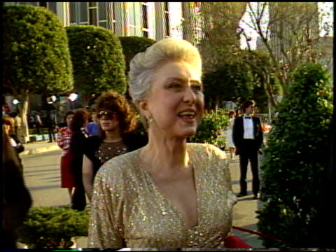 rona barrett at the 1987 academy awards at dorothy chandler pavilion in los angeles california on march 30 1987 - dorothy chandler pavilion stock videos & royalty-free footage