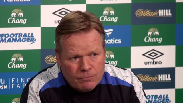 Ronald Koeman previews Everton's Premier League clash with Sunderland
