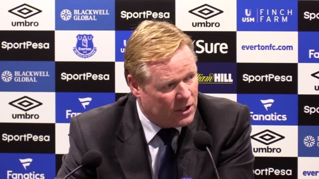 Ronald Koeman speaks after losing 30 to Tottenham He says Tottenham played very well leading to a tough match for his side He says Harry Kane is one...