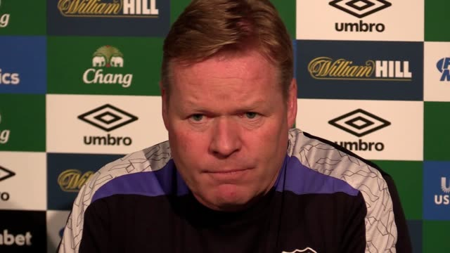 Ronald Koeman talks about Arouna Koné and the Crystal Palace deal that fell through He says that Kone is still an Everton player and he will have a...