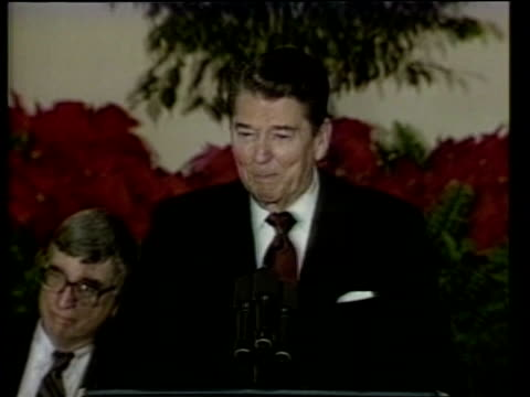 ronald reagan's last day as president usa washington dc speech sof and there are getting out - last day stock videos & royalty-free footage
