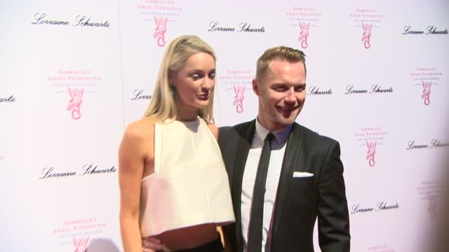 ronan keating and storm keating at gabrielle's gala fundraiser at the old billingsgate on may 7 2014 in london england - ronan keating stock videos & royalty-free footage